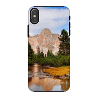 Flowing River With Sky Phone Case Iphone X / Tough Gloss & Tablet Cases