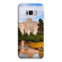Flowing River With Sky Phone Case Samsung S8 Plus / Snap Gloss & Tablet Cases