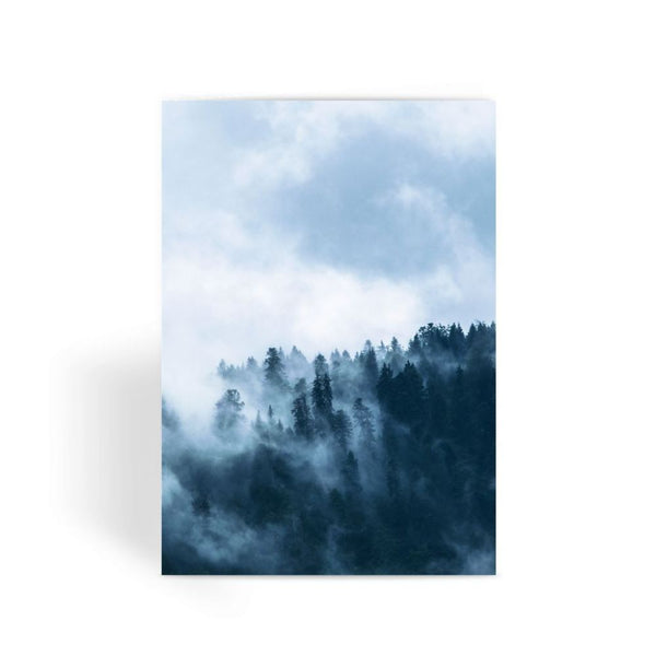 Fog In The Sky Greeting Card 1 Prints