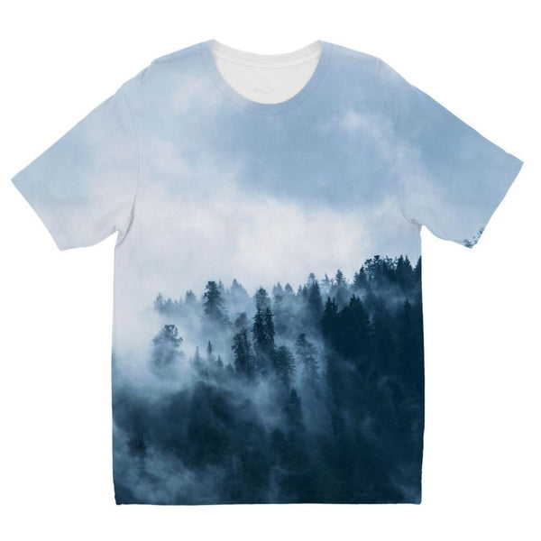 Fog In The Sky Kids Sublimation T-Shirt 3-4 Years Apparel