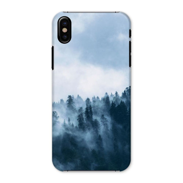 Fog In The Sky Phone Case Iphone X / Snap Gloss & Tablet Cases