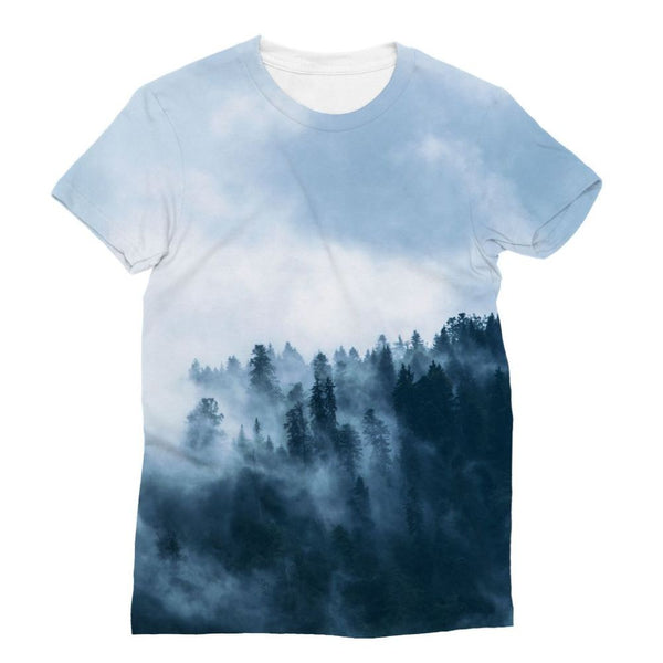 Fog In The Sky Sublimation T-Shirt S Apparel