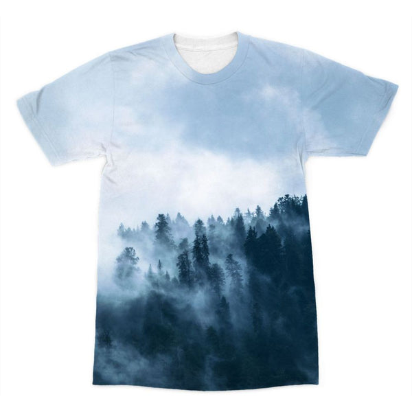 Fog In The Sky Sublimation T-Shirt Xs Apparel