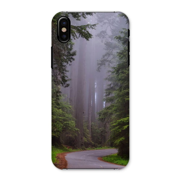 Foggy Redwood National Park Phone Case Iphone X / Snap Gloss & Tablet Cases