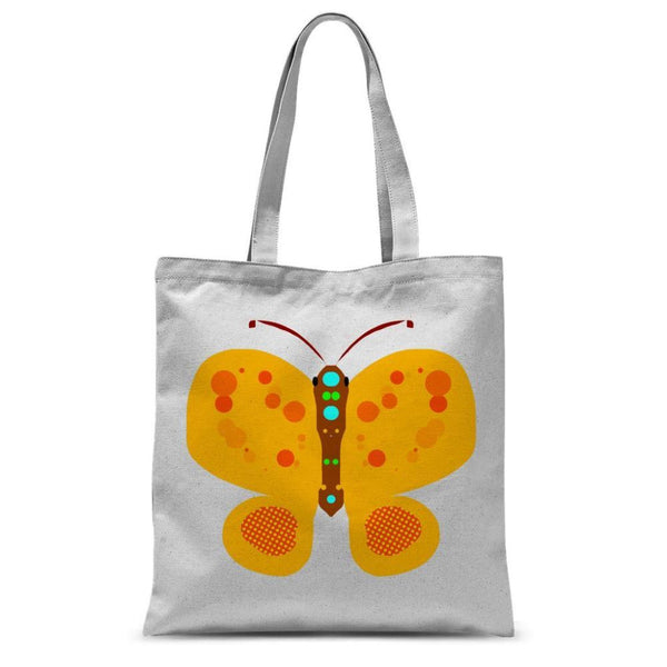 Freckels Butterfly Sublimation Tote Bag 15X16.5 Accessories