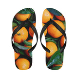 Fresh Oranges Fruits Flip Flops For Men/women (040)
