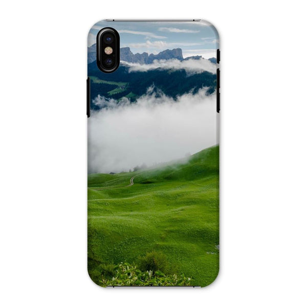 Full Green Mountain Phone Case Iphone X / Snap Gloss & Tablet Cases