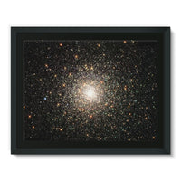Galaxy Surrounded With Stars Framed Canvas 16X12 Wall Decor