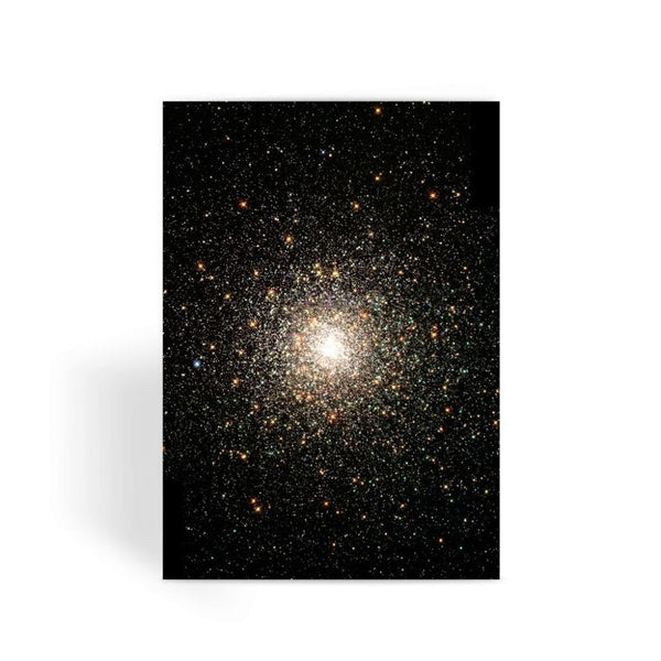 Galaxy Surrounded With Stars Greeting Card 1 Prints