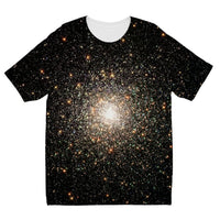 Galaxy Surrounded With Stars Kids Sublimation T-Shirt 3-4 Years Apparel