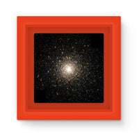 Galaxy Surrounded With Stars Magnet Frame Red Homeware