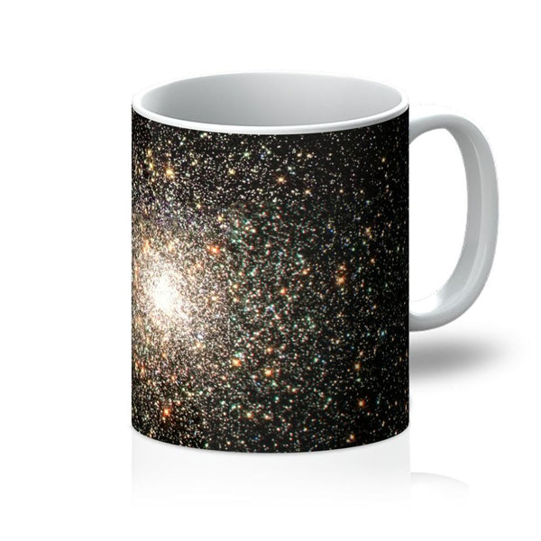 Galaxy Surrounded With Stars Mug 11Oz Homeware