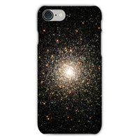 Galaxy Surrounded With Stars Phone Case Iphone 8 / Snap Gloss & Tablet Cases