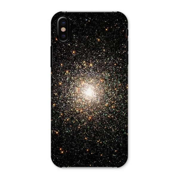 Galaxy Surrounded With Stars Phone Case Iphone X / Snap Gloss & Tablet Cases