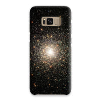 Galaxy Surrounded With Stars Phone Case Samsung S8 / Snap Gloss & Tablet Cases