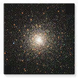 Galaxy Surrounded With Stars Stretched Canvas 14X14 Wall Decor