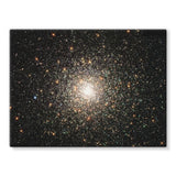 Galaxy Surrounded With Stars Stretched Canvas 16X12 Wall Decor