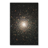 Galaxy Surrounded With Stars Stretched Canvas 24X36 Wall Decor