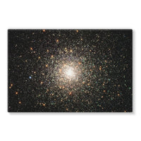 Galaxy Surrounded With Stars Stretched Canvas 30X20 Wall Decor