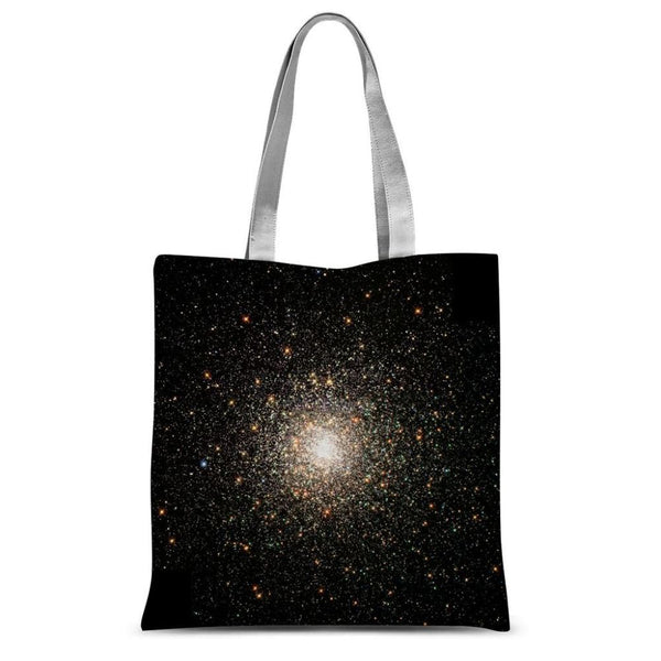 Galaxy Surrounded With Stars Sublimation Tote Bag 15X16.5 Accessories
