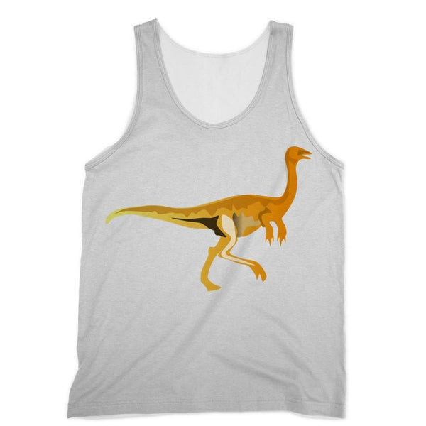 Gallimimus Dinosaur Sublimation Vest Xs Apparel