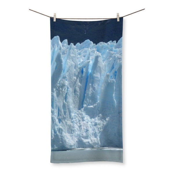 Giant Glacier Beach Towel 19.7X39.4 Homeware