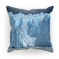 Giant Glacier Cushion Faux Suede / 18X18 Homeware