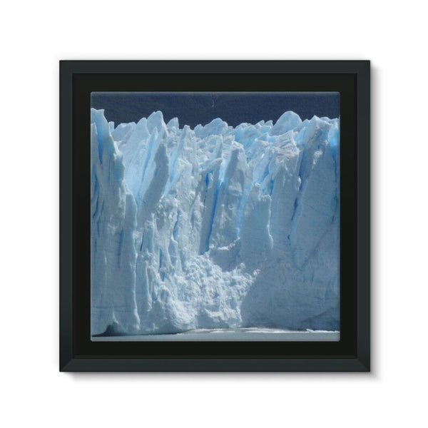 Giant Glacier Framed Canvas 12X12 Wall Decor