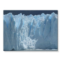 Giant Glacier Stretched Canvas 16X12 Wall Decor