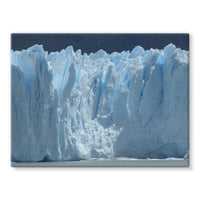 Giant Glacier Stretched Canvas 24X18 Wall Decor