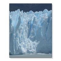 Giant Glacier Stretched Eco-Canvas 11X14 Wall Decor