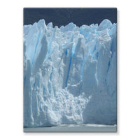 Giant Glacier Stretched Eco-Canvas 18X24 Wall Decor