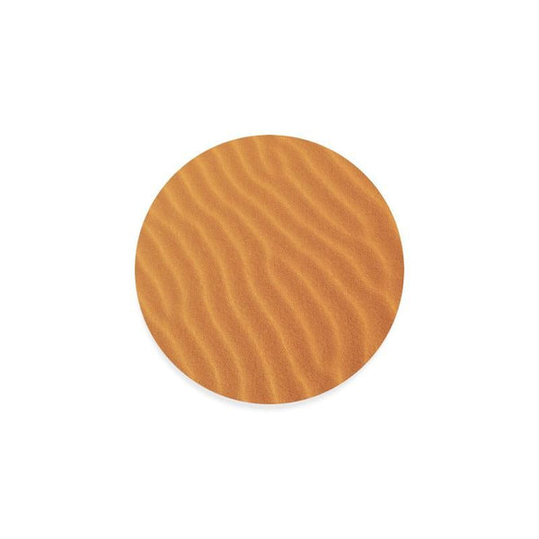 Golden Sand Drink Beverage Round Coaster