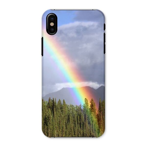 Gorgeous Rainbow At Cloudy Phone Case Iphone X / Snap Gloss & Tablet Cases
