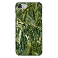 Grains Landscape View Phone Case Iphone 8 / Snap Gloss & Tablet Cases