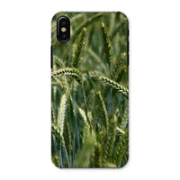 Grains Landscape View Phone Case Iphone X / Snap Gloss & Tablet Cases