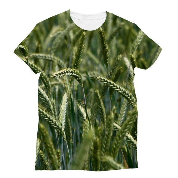 Grains Landscape View Sublimation T-Shirt Xs Apparel