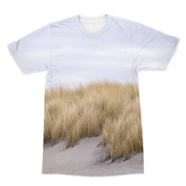 Grass Growing In The Sand Sublimation T-Shirt Xs Apparel