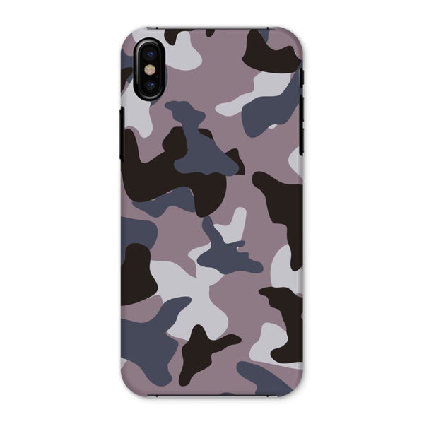Gray Army Camo Pattern Phone Case Iphone X / Snap Gloss & Tablet Cases