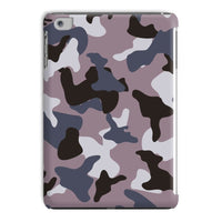 Gray Army Camo Pattern Tablet Case Ipad Mini 4 Phone & Cases