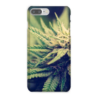 Green Cannabis Marijuana Phone Case Iphone 8 Plus / Snap Gloss & Tablet Cases
