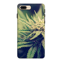 Green Cannabis Marijuana Phone Case Iphone 8 Plus / Tough Gloss & Tablet Cases