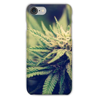 Green Cannabis Marijuana Phone Case Iphone 8 / Snap Gloss & Tablet Cases