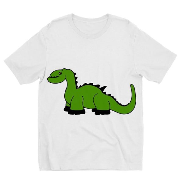 Green Kid Dinosaur Kids Sublimation T-Shirt 3-4 Years Apparel