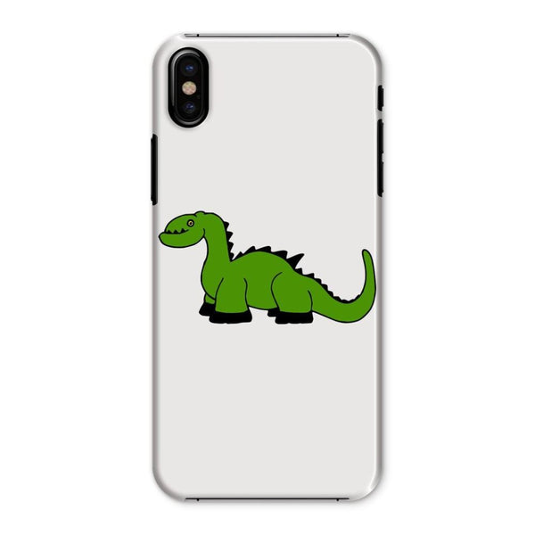 Green Kid Dinosaur Phone Case Iphone X / Snap Gloss & Tablet Cases