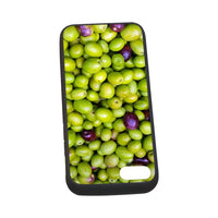 Green Olives Pattern Iphone 7 4.7 Case Rubber