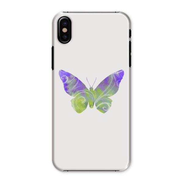 Green Purple Butterfly Phone Case Iphone X / Snap Gloss & Tablet Cases