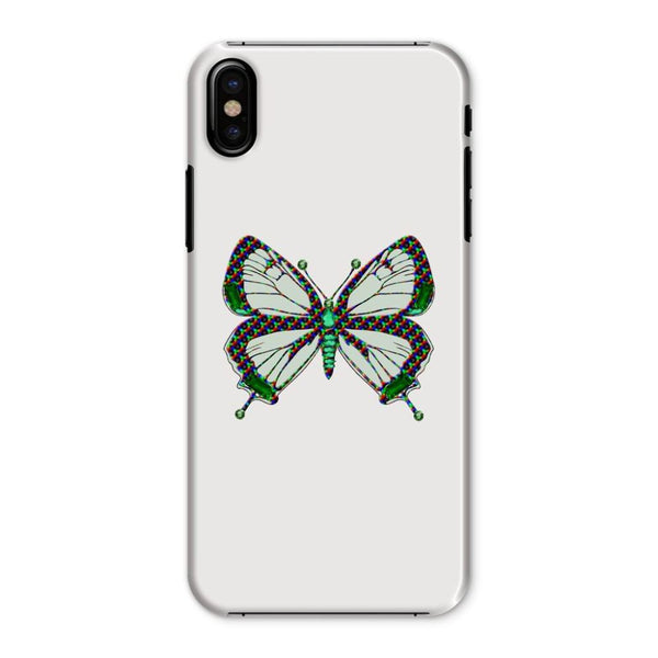 Green Rainbow Butterfly Phone Case Iphone X / Snap Gloss & Tablet Cases