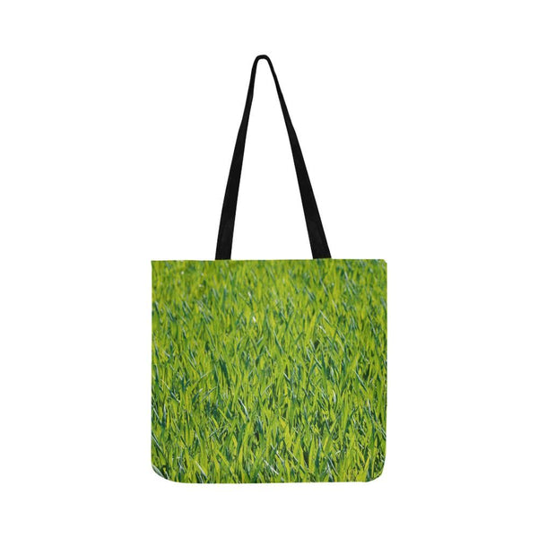 Green Summer Spring Grass Reusable Tote Shopping Bag (Two Sides) (1660)