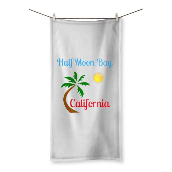 Half Moon Bay California Beach Towel 19.7X39.4 Homeware